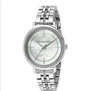 Michael Kors Cinthia MK3641 Silver Tone Watch